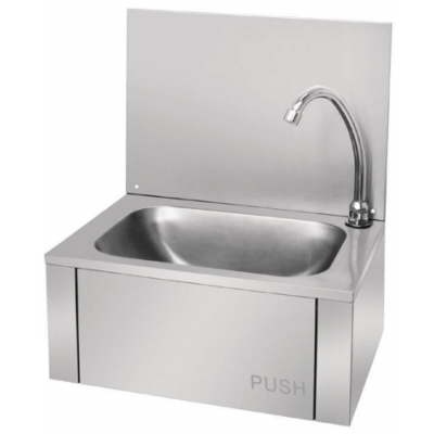GL280 Vogue Stainless Steel Knee Operated Sink