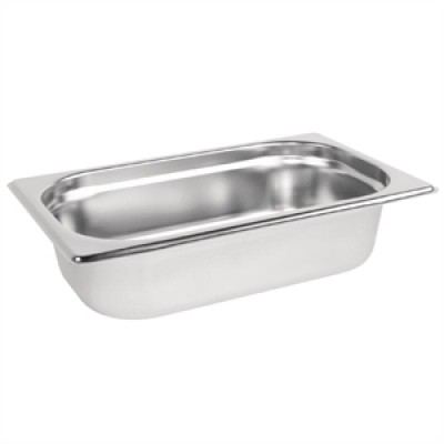 Stainless Steel Gastronorm Pan - 1/4 One Quarter Size