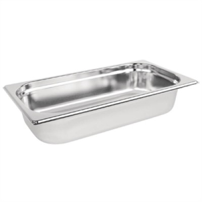 Stainless Steel Gastronorm Pan - 1/3 One Third Size