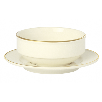 Academy Event Gold Band Saucer - 17cm
