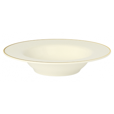 Academy Event Gold Band Deep Soup/Pasta Plate - 26cm