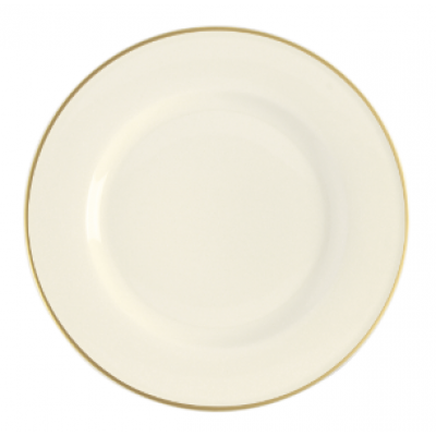Academy Event Gold Band Flat Plate - 17cm