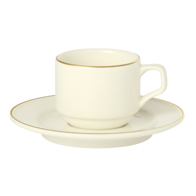 Academy Event Gold Band Espresso Cup - 90ml