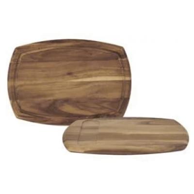 "Acacia Wooden Board 14"" x 9.75"""