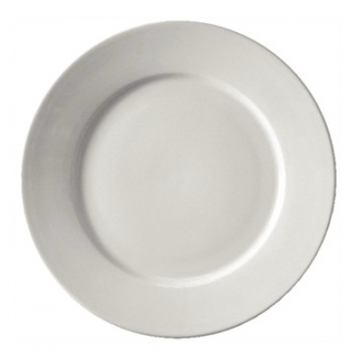 """Athena Hotelwear Wide Rimmed Plate 10"""""""