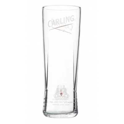 Utopia Carling Nucleated Half Pint Glass