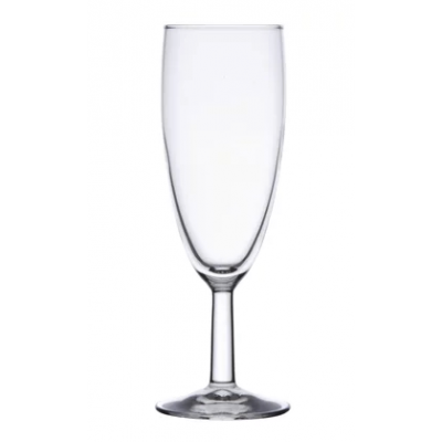 Olympia Boule Champagne Flutes - 140ml