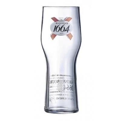 Arcoroc Kronenbourg 1664 Beer Glasses - 570ml