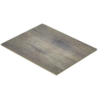 Wood Effect Melamine Platter GN 1/2 32.5X26.5cm