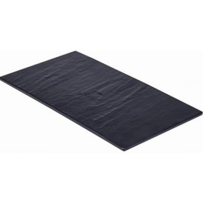 Slate Melamine Platter GN 1/3 32.5X17.5cm