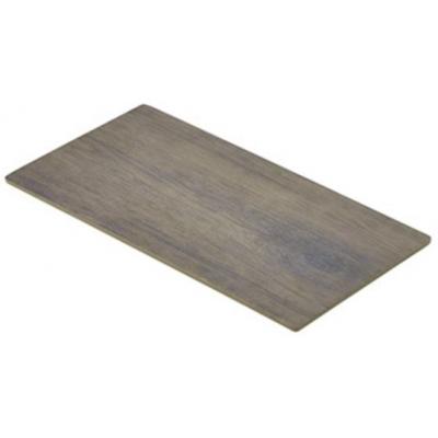 Wood Effect Melamine Platter GN 1/3 32.5X17.5cm