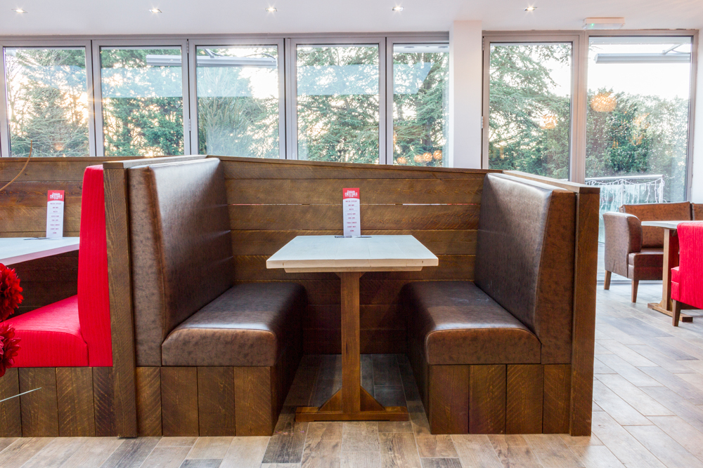 Banquette Seating And Fixed Booth Seating